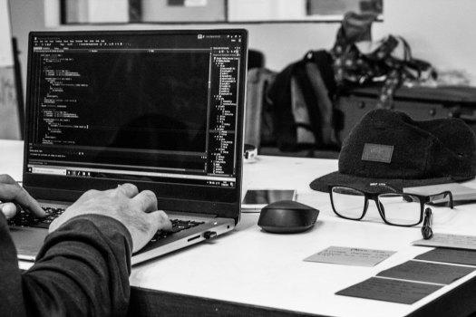 Guy coding
