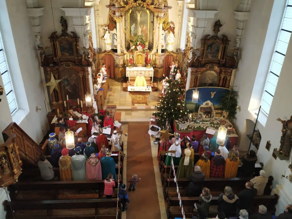 Hl. Messe in Unlingen