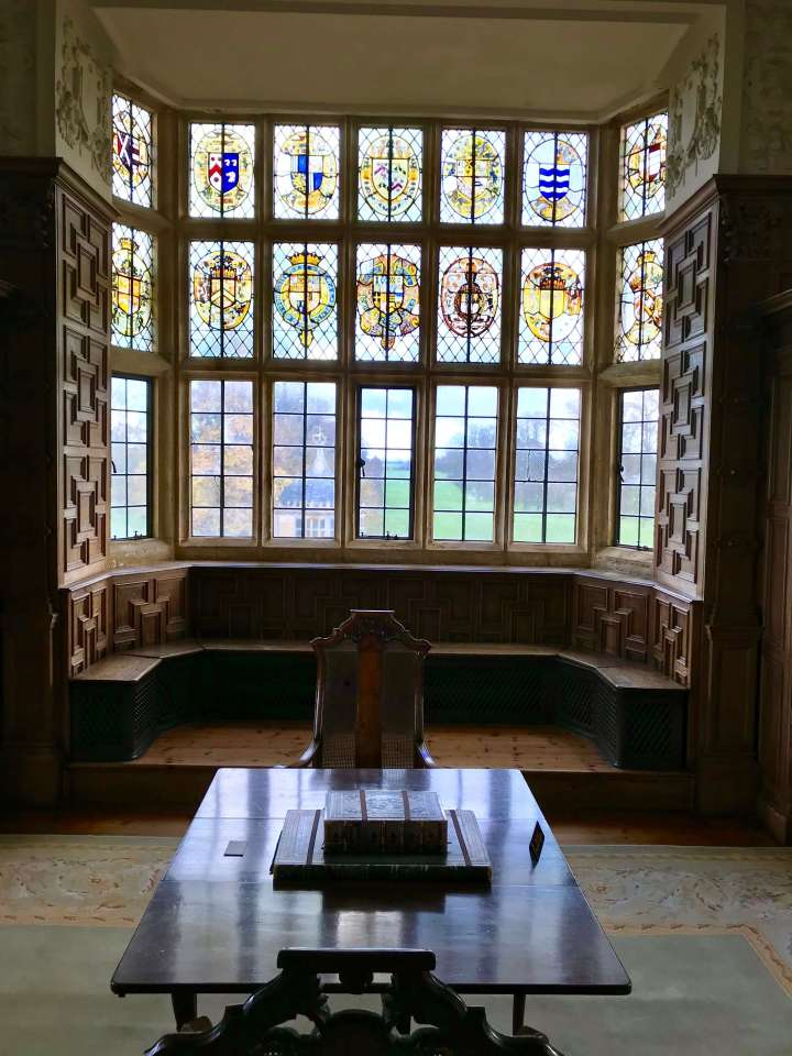 Stained glass library