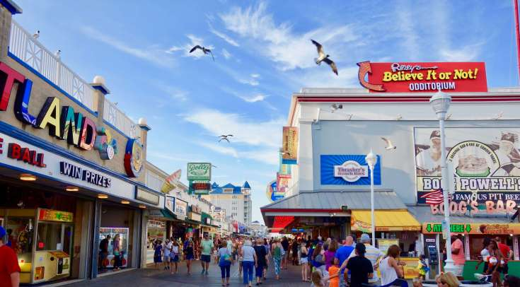 Ocean City, Maryland Boardwalk