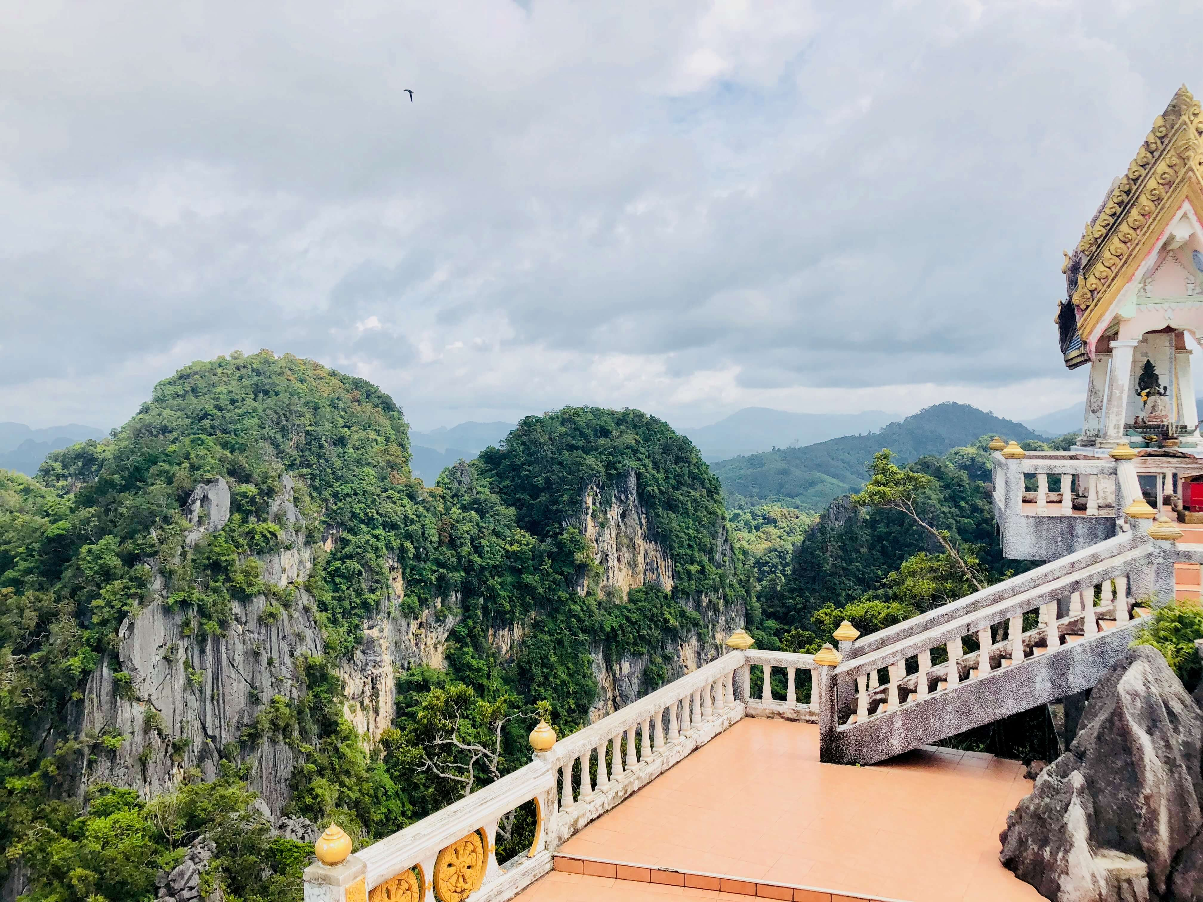 how to get to tiger cave temple from ao nang