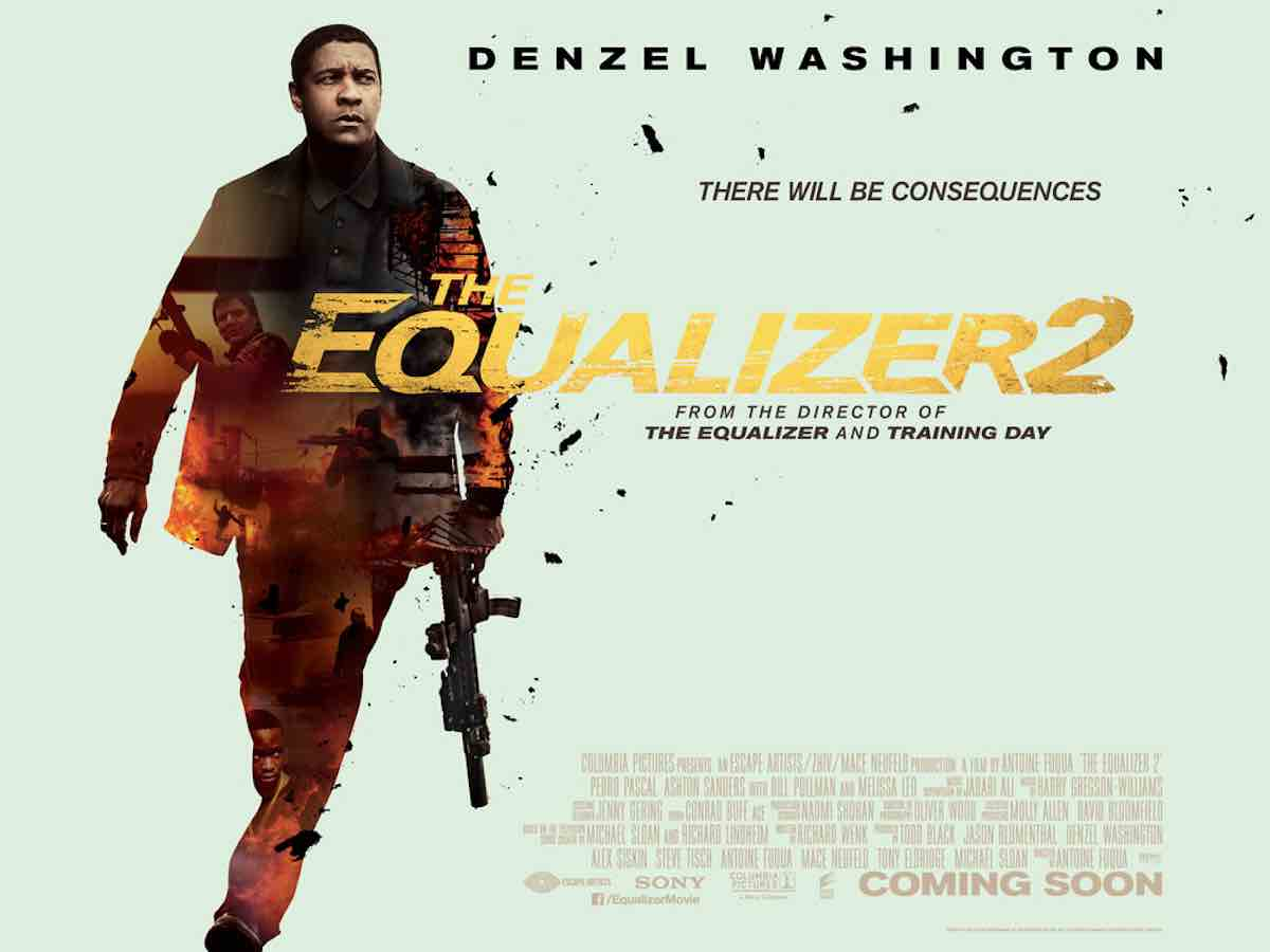 Image result for THE EQUALIZER 2 DVD  COVER