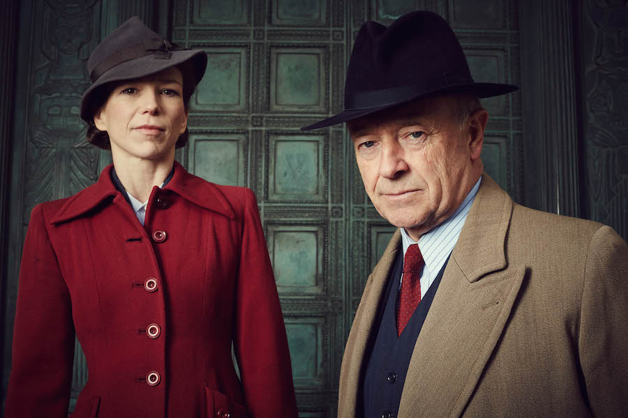 Pictured: Samantha Stewart (played by Honeysuckle Weeks), Christopher Foyle (played by Michael Kitchen) Image: ITV / Eleventh Hour Films