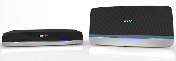 The new box matches BT's HomeHub WiFi routers