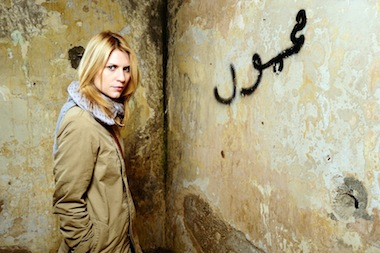 Claire Danes as Carrie Mathison. Image: Channel 4
