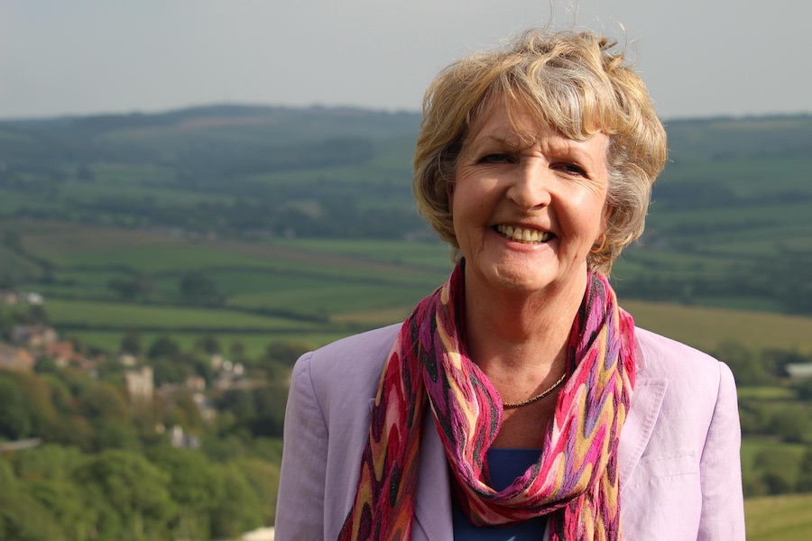 Penelope Keith also presents Favourite Villages. Image: Channel 4 / Reef.