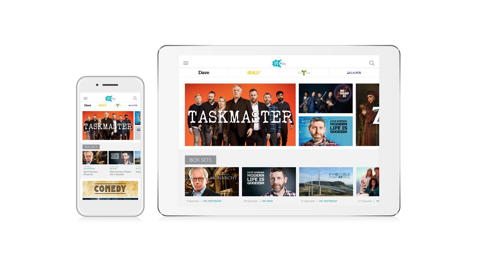 """UKTV Play gets """"significantly updated"""" new iOS and Android app – SEENIT"""