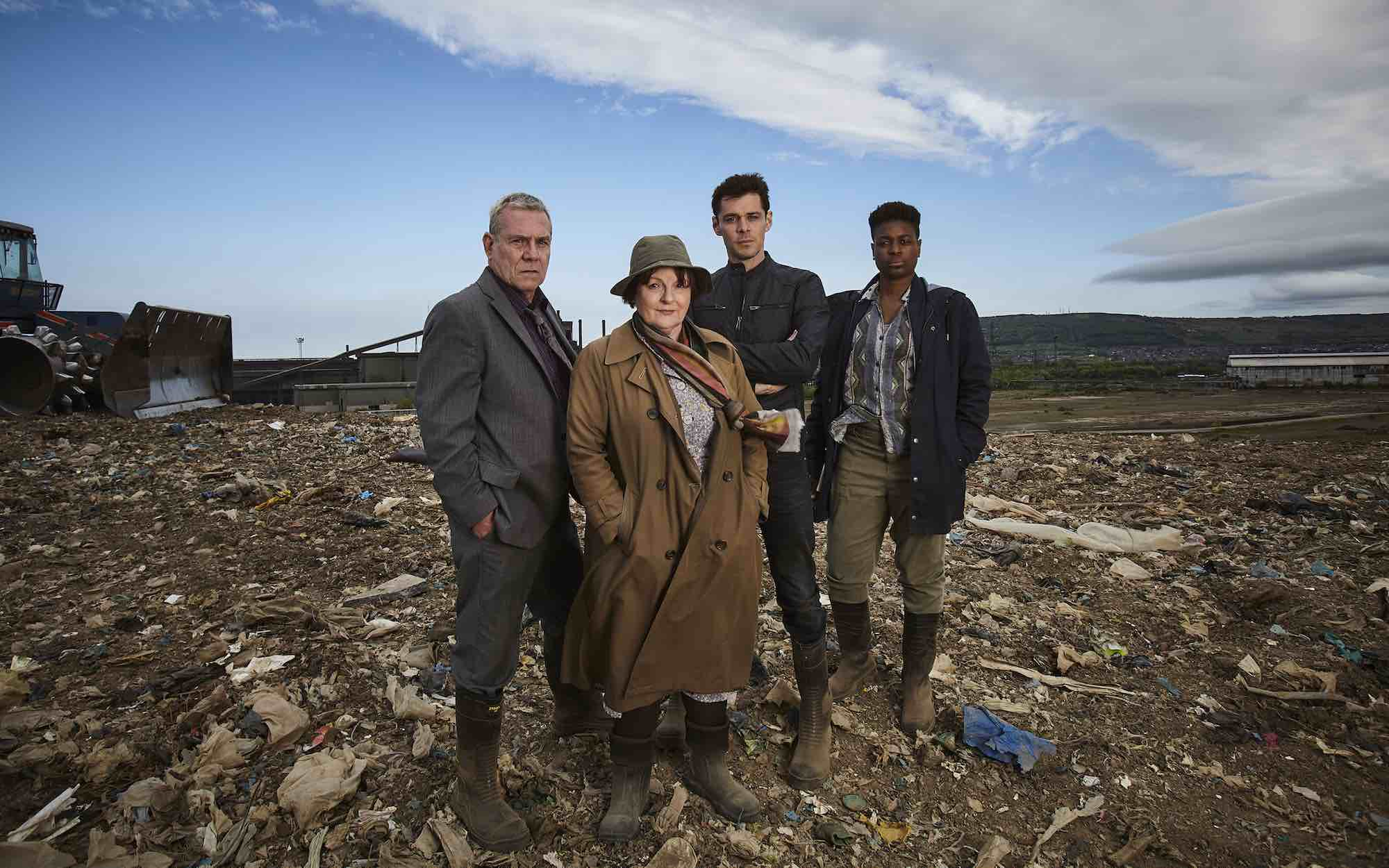 Brenda Blethyn is now filming four new episodes of ITV crime
