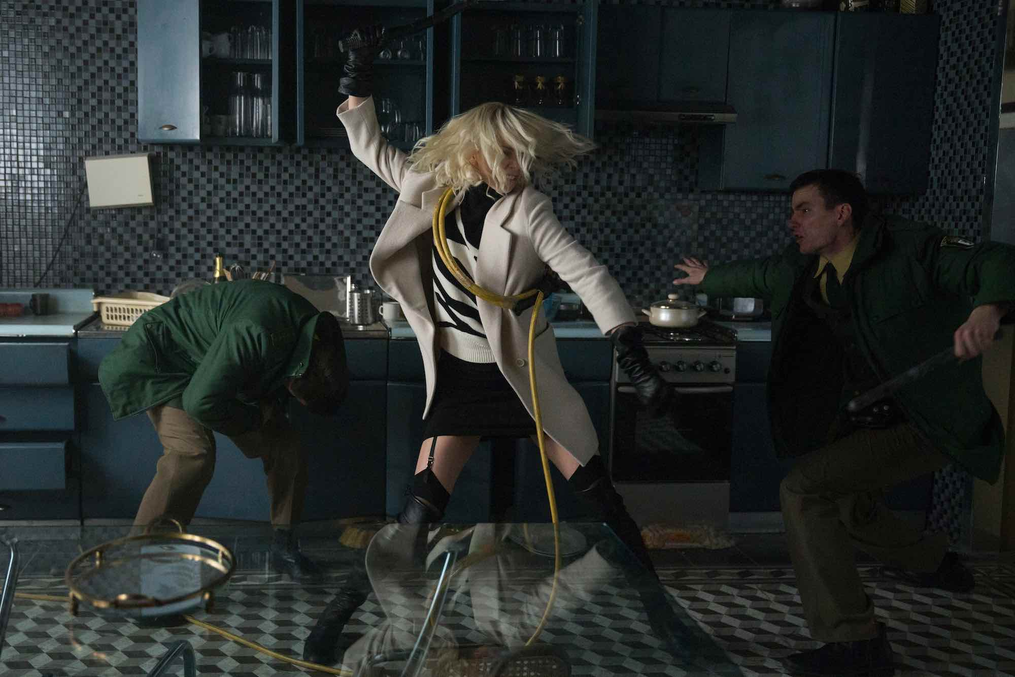 Atomic Blonde NSFW trailer: Charlize Theron has 'an impressive set of skills'