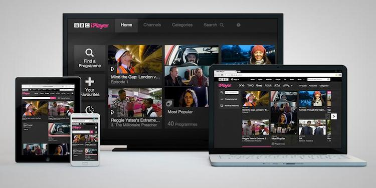 The new inlayer makes it easier to find and discover content. Image: BBC