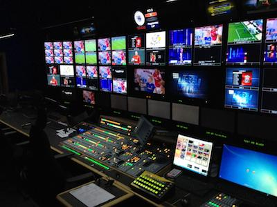 BT Sport's production gallery. Image: SEENIT