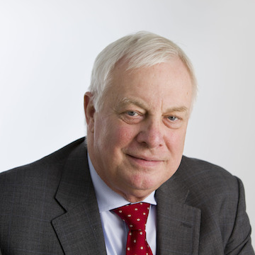 Lord patten has stepped down with immediate effect. Image: BBC/Mike Abrahams