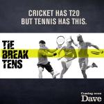 UKTV's Dave to show new tennis contest