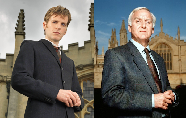 Shaun Evans takes over as Morse, the role made famous by John Thaw. Pictures: ITV