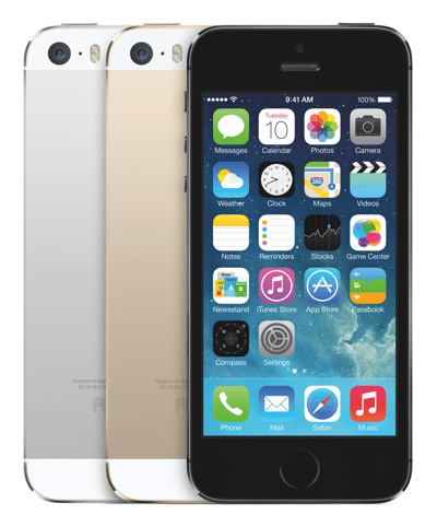 Handsets such as Apple's iPhone allow users to access films and music while on the move.
