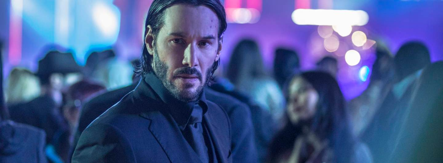 Keanu Reeves in John Wick: Chapter Two clip