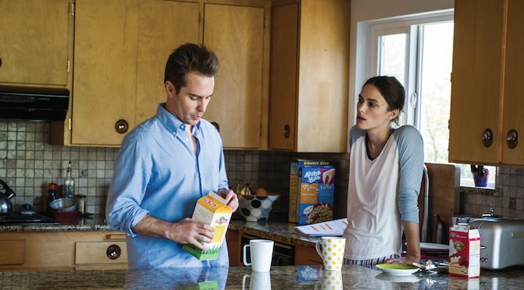 Sam Rockwell & Keira Knightley in Say When. Image: Icon Film Distribution