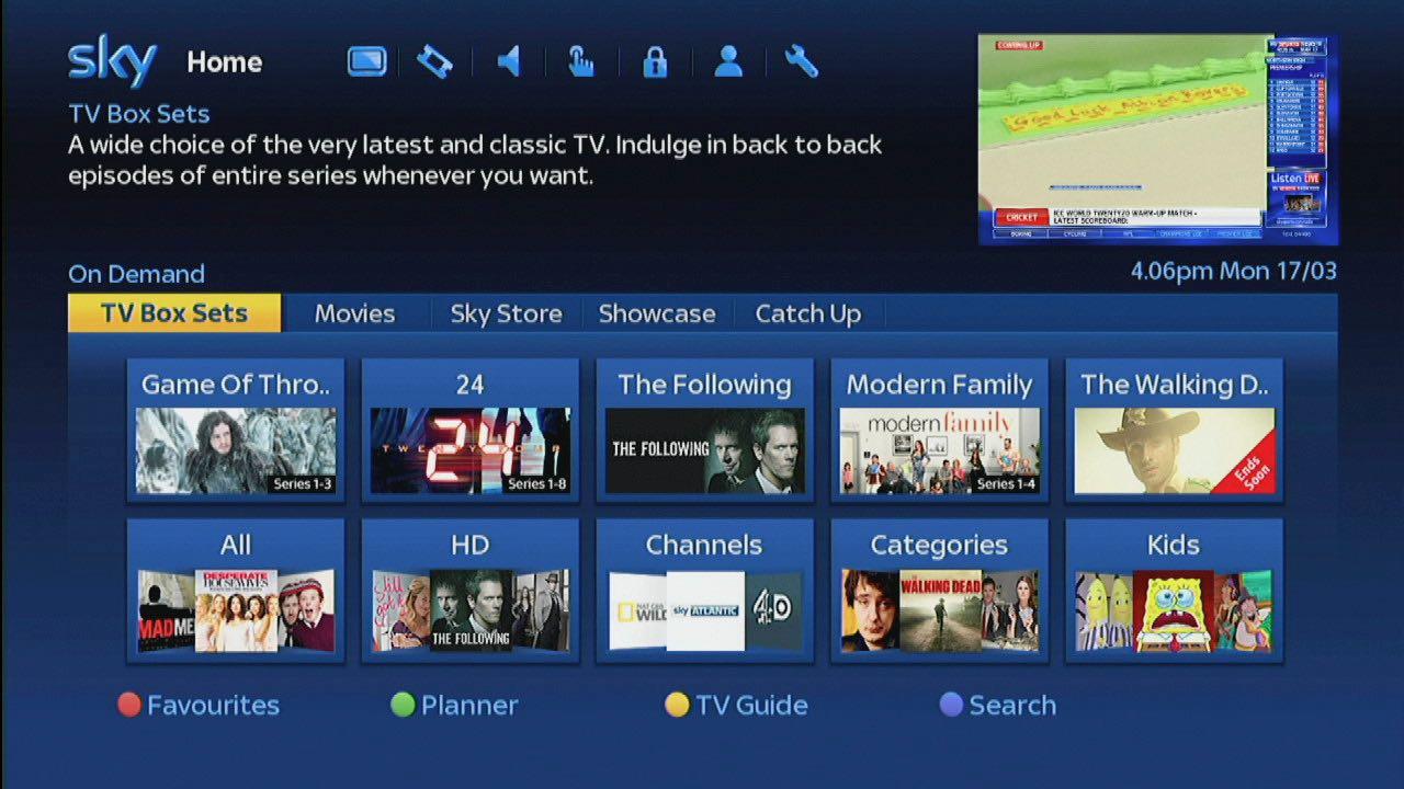 Sky Epg Aktualisierung Ohne Internet