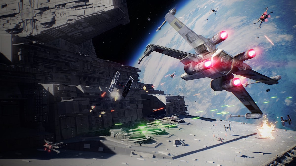 EA to Debut Star Wars Battlefront II's Starfighter Assault mode at Gamescom