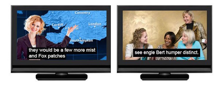 Ofcom has previously slammed broadcasters for slow and inaccurate subtitles.  Image: Ofcom