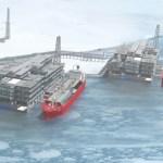 Oι Ρώσοι εξασφάλισαν 9,5 δισ. δολαρίων από Γερμανούς και Κινέζους για τον Arctic LNG 2