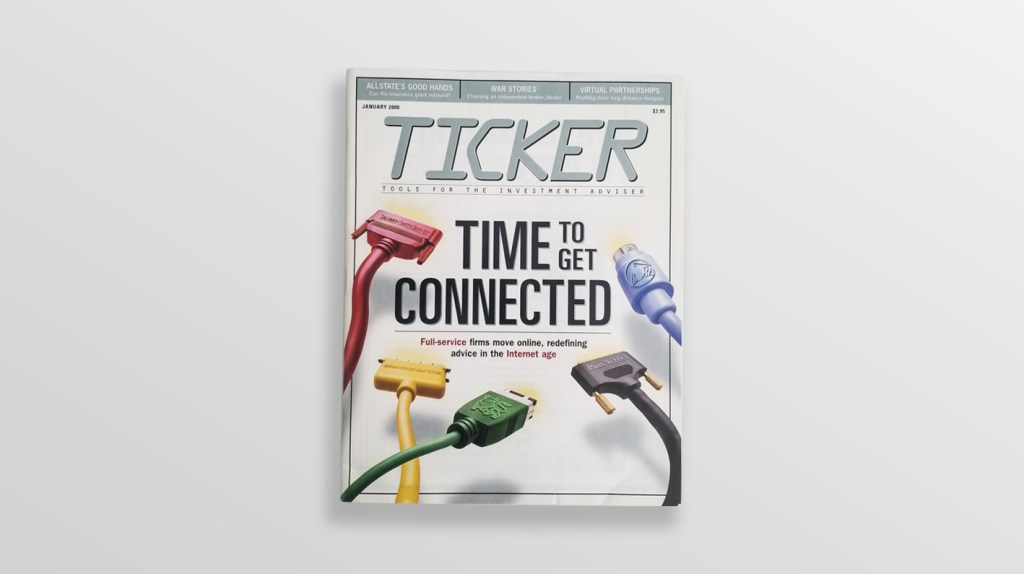 Photo of actual magazine cover