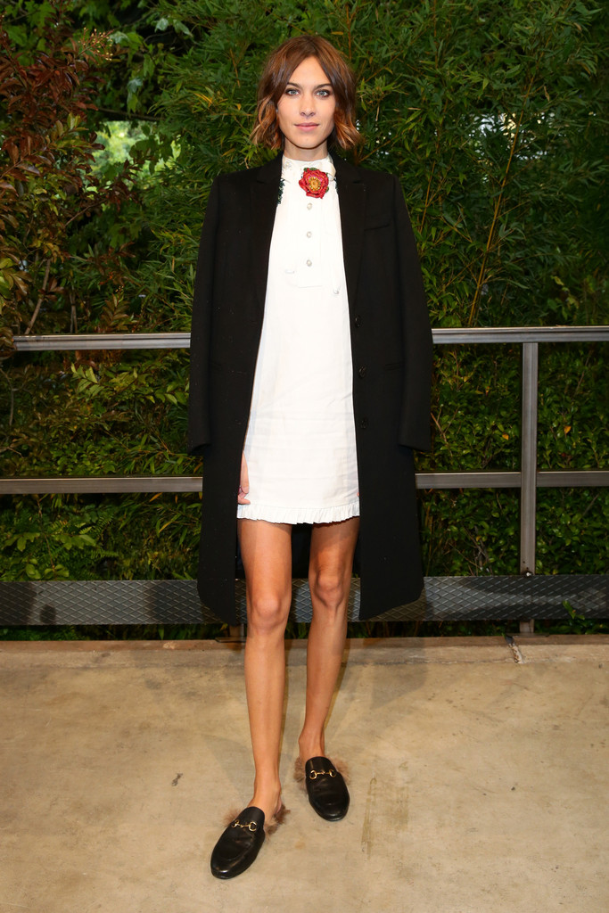 Alexa-Chung-Gucci-Princetown-Loafers