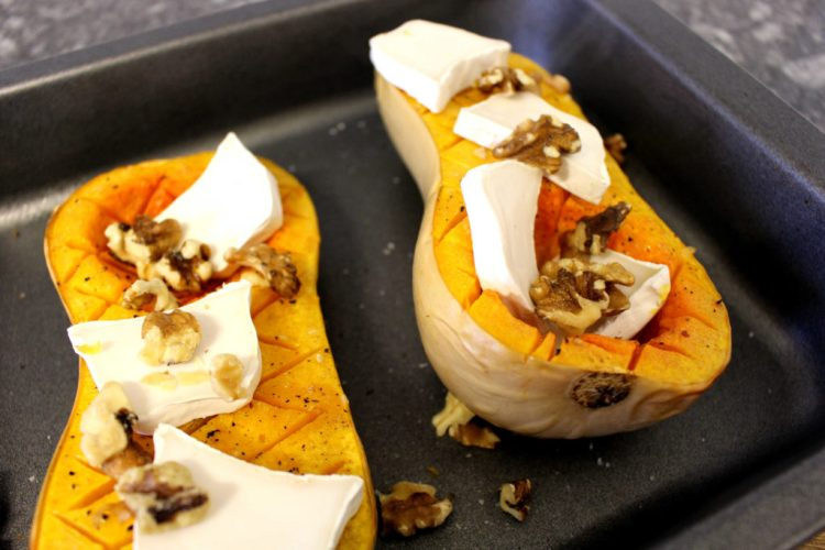 butternut-squash-with-goat-cheese-and-walnuts