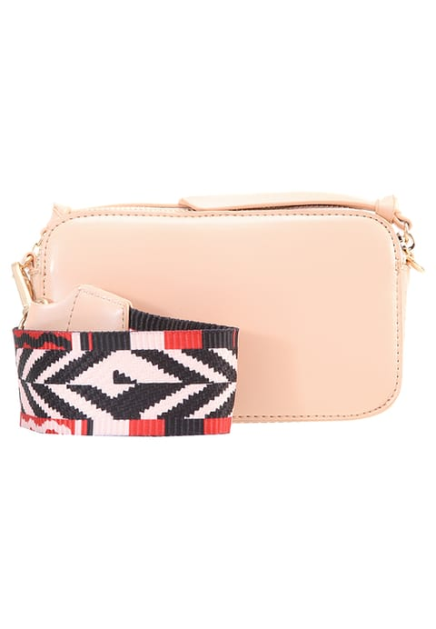 1d4d8dfb10 ... Missguided Guitar Strap Crossbody Bag Nude