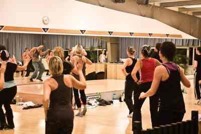 Aerobic- und Fitnesskurs