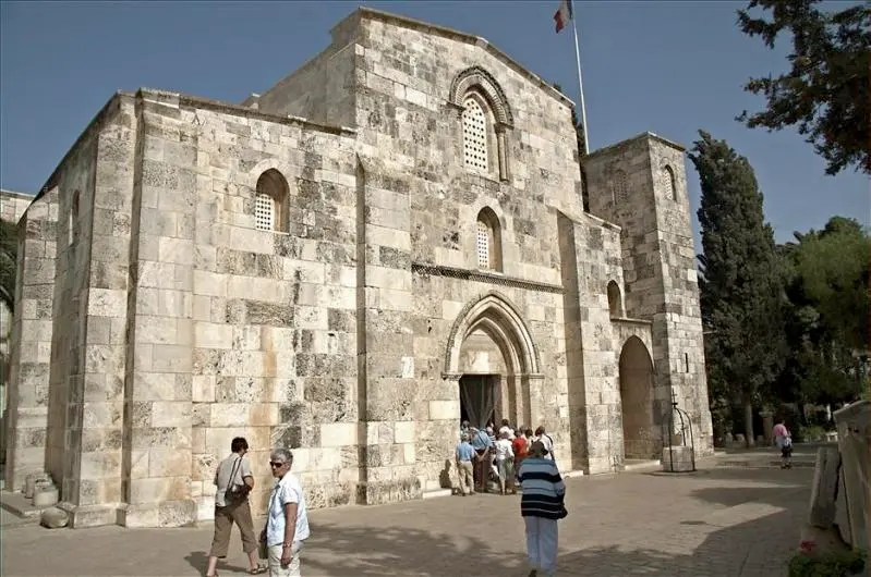 Church Of St Anne See The Holy Land