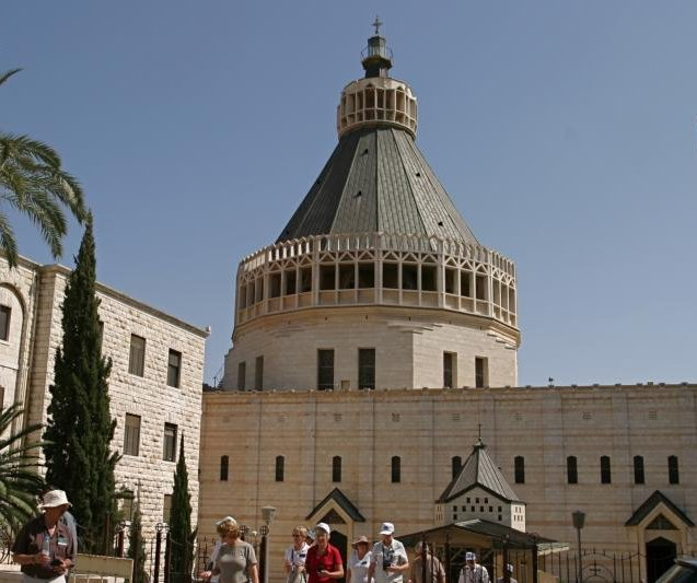 Church Of The Annunciation See The Holy Land