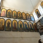 Icons of saints in St Alexander Nevsky chapel (Seetheholyland.net)
