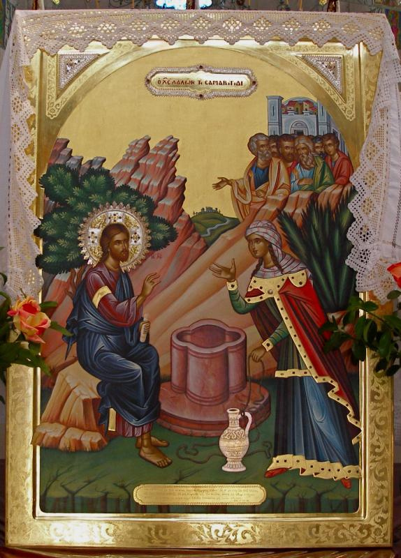 Image result for jesus woman at the well