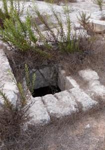 Entrance to well at Kathisma (Seetheholyland.net)