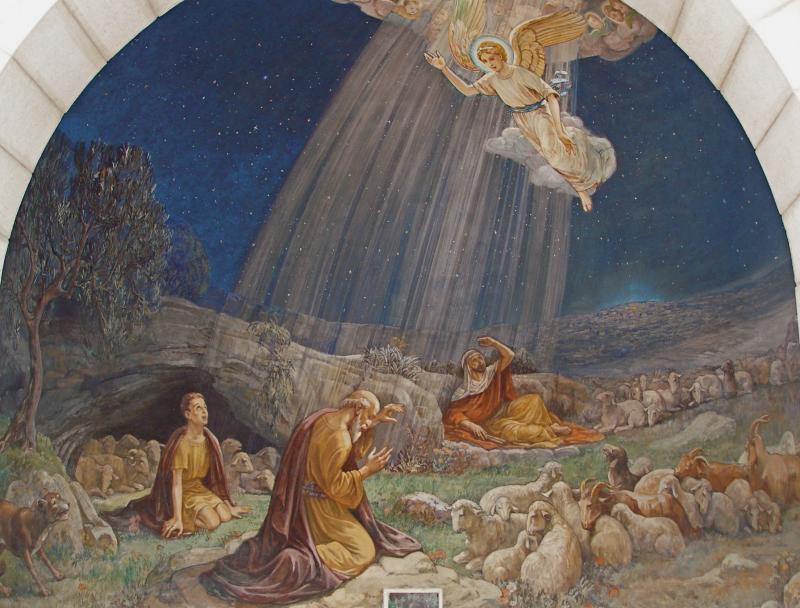 Angel Tomb Jesus