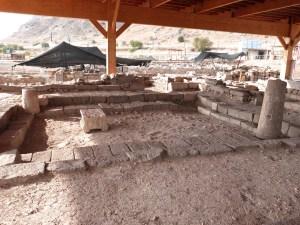 Synagogue uncovered at Magdala (Seetheholyland.net)