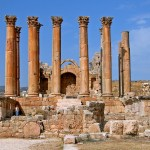 Temple of Artemis at Jerash (Dennis Jarvis / Wikimedia)