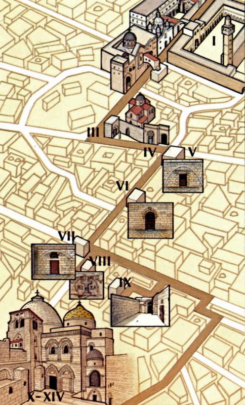 Via Dolorosa See The Holy Land