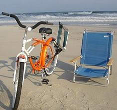 beach bum bike chair caddy