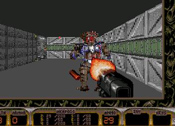 Sega 16     First Person Shooter Games on Genesis  Ambition or Folly  It s All in the Hardware