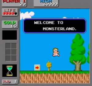 Wonder Boy in Monster Land - Arcade 1