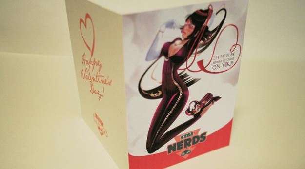 Bayonetta Valentine's Card by Ale Salcido