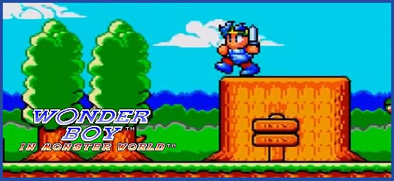 Wonder Boy - Header - Monster World III MS2