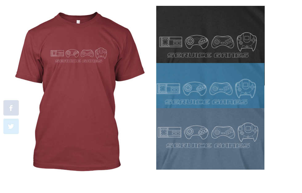 Service Games T