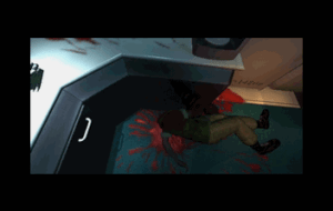 While it might look a tad tame now, the there is a decent amount of blood shown in the cutscenes, especially for a game of its time.