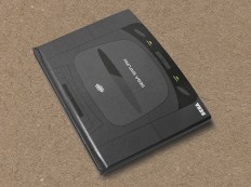 Sega Saturn hardcover notebook by Yellow Bulldog