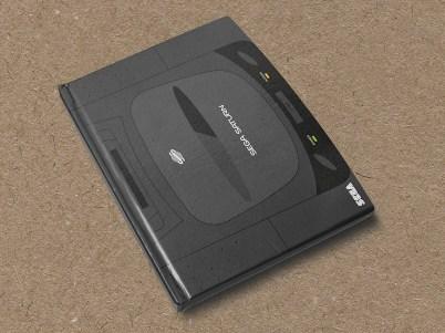 Sega Saturn hardcover notebook by Yellow Bulldog