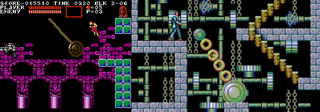 Some parts of Master of Darkness are pretty blatant copies of Castlevania 3.