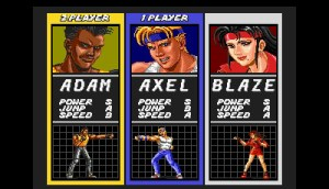 There was always a fight over who gets to play Axel...